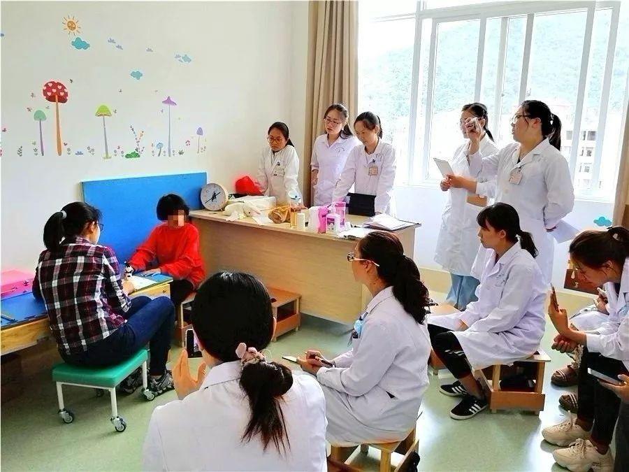 國際專業服務機構(MSI)黃妤真專家獲邀到大理州醫院鳳儀分院康復醫學科指導授課